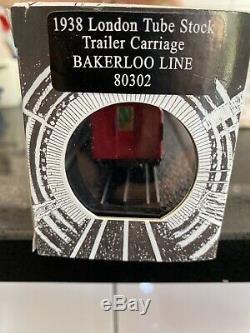 00 Gauge London Underground Model Train Bakerloo Line 4 Car Set