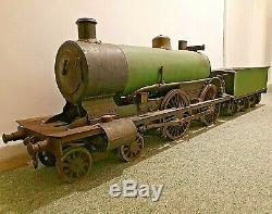 1910 5 LIVE STEAM LOCO Historic 5 inch gauge Garden Railway Engine, Model Train