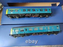 31-535 Bachmann Class 105 Power Twin DMU OO gauge model railway trains set