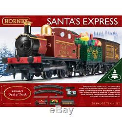37719 Hornby Santa's Express Christmas 00 Gauge Electric Train Set Model Railway