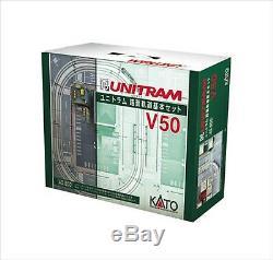 40-800 Kato N Gauge Unitram V50 Road Track Basic Set Model Train F/S from Japan