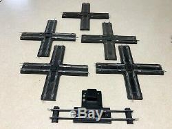 American Flyer S Gauge Model Train Track Straight Curved Cross Over 175 Pieces