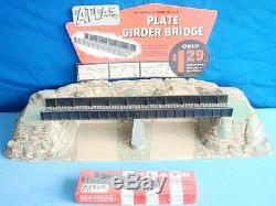 Atlas Ho Gauge Model Railroad Train Plate Girder Bridge Snap Track Store Counter