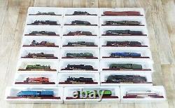 Atlas model Steam trains x24 JOB LOT FLYING SCOTSMAN MALLARD Static 00 Gauge Box