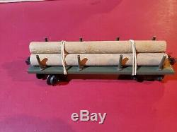 B&O Large Model Train Set Battery Operated Tin Toy Standard Gauge orig box works