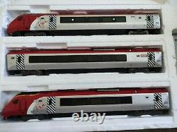 Bachmann Oo Gauge Virgin Class 220 3 Car Emu Welsh Dragon Model Railway Trains