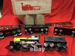 Classic Model Trains B&o Standard Gauge Loco Tender Boxcar Gondola And Caboose