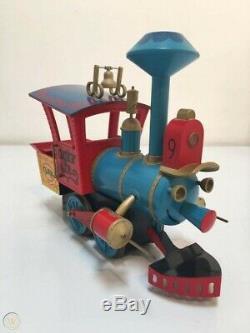 Disneyland Casey Jr. Circus Train Model Engine Dumbo Movie G Scale Gauge-RARE