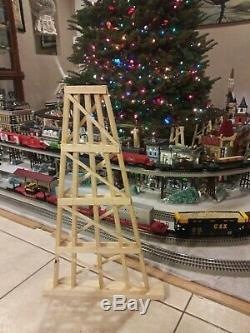 G Scale Model Train Garden Trestle Custom 24 inch! G gauge. Set of 10
