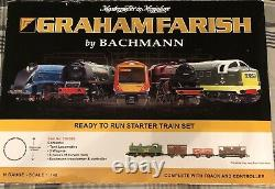 Graham Farish by Bachmann. N Gauge Model Train Starter Set. 370-025
