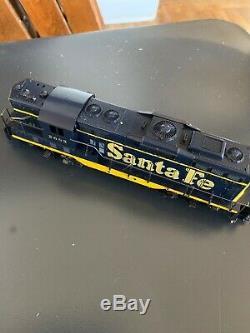 HO Scale Gauge Model Trains Santa Fe Engine Locomotives LOT OF 10