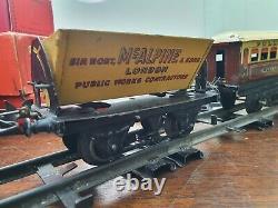 HORNBY MECCANO O GAUGE 501 ENGINE WAGON TRAIN MODEL RAILWAY TRACK Mc ALPINE ESSO