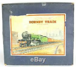 HORNBY TRAIN -TANK PASSENGER SET No. 101- O GAUGE MODEL LOCOMOTIVE RAILWAY BOXED