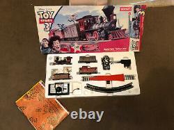 HORNBY Toy Story 3 Electric Train Set Boxed Model Railway Set Oo Gauge