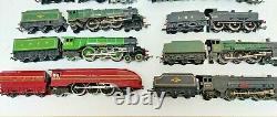 Hornby 00 Gauge Model Railways Steam Locos & all Tenders Trains Job Lot x 8