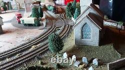Hornby 00 Gauge Model Train Layout unfinished including Flying Scotsman