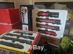 Hornby 00 gauge model electric train collection. Controls, platforms, etc