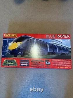 Hornby Blue Rapier Train Set, Train Track, 00 Gauge Track, Model Railway