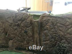 Hornby Digital OO Gauge Model Train Set Layout Tunnel Runway 8ft x 4ft Must See