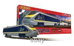 Hornby Eurostar Analogue Train Set OO Gauge Model Train R1176