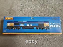 Hornby R30069 Class 66 Ltd Edition Captain Tom Moore Model Train 00 Gauge