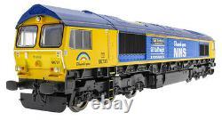 Hornby R30069 Class 66 Ltd Edition NHS Captain Tom Moore Model Train 00 Gauge