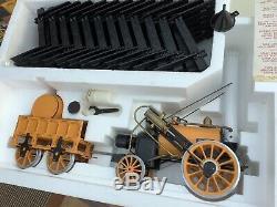 Hornby Stephenson's Rocket Steam Train Set G100 3.5 inch gauge model
