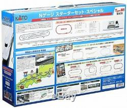 KATO 10-019 N Gauge Starter Set Special N700A Shinkansen Nozomi Model Train Set