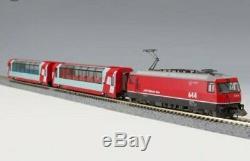 KATO 10-1145 Alp Glacier Express Basic 3-car set, N Gauge model train