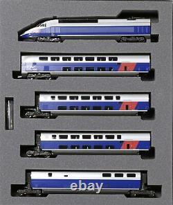 KATO 10-1529 N Gauge TGV Réseau Duplex Railway Model Train Set of 10