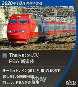 KATO 10-1657 N gauge Thalys Talis PBA new paint 10-car set model train