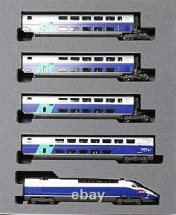 KATO Model Train 10-1529 N Gauge TGV Rseau Duplex French National Railways NEW
