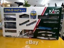 KATO Model Train N Gauge EF66 Blue Train Set Electric Locomotive used in Japan
