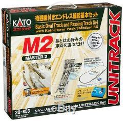 KATO N Gauge M2 Endless with Retreat line Master 2 20-853 Model Train Rail Set