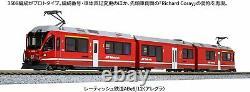 KATO N Gauge Rhaetian Railway ABe8 / 12 Allegra 10-1273 Model Train (3-car set)