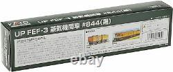 KATO N Gauge Scale UP FEF-3 #844 Black Steam Locomotive Model Train NEW Japan