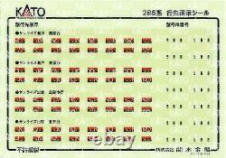 KATO N Gauge Series 285 3000 Sunrise Express 7-Car Set 10-1565 Model Train New