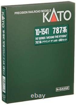 KATO N Gauge Series 787 Around the Kyushu 4-Car Set Model Train 10-1541