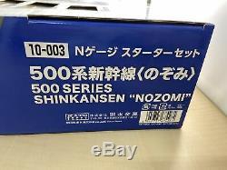 KATO N Gauge Starter Set 500 Series Shinkansen Nozomi 10-003 Model Train Set