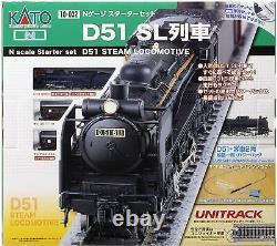 KATO N Gauge Starter Set D51 SL Train 10-032 Model Train Introduction Set