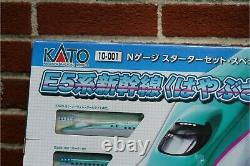 KATO N Gauge Starter Set E5 Series Hayabusa 10-001 Model Train Introduction Set