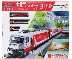 KATO N-Gauge Starter Set Glacier Express of Alps 10-006 Model Train Japan new