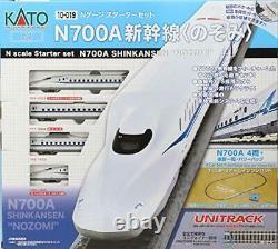 KATO N Gauge Starter Set N700A Shinkansen Nozomi 10-019 Model Train Japan
