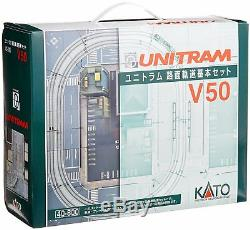 KATO N Gauge V50 Unitram 40-800 Train Model Train Track Ground Rail Set Japan