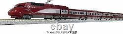 KATO N gauge 10-1657 10-car set Thalys PBA new paint model train Rouge Train