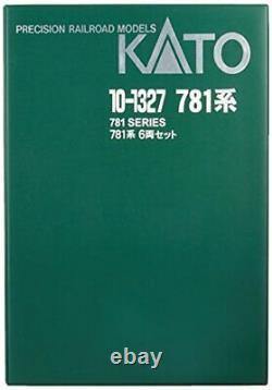 KATO N gauge 781 system 6-Car Set 10-1327 model railroad train