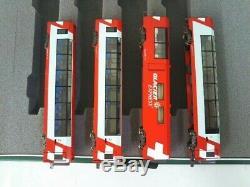 KATO N gauge Alps Glacier Express Add-On 4-Car Set Model Train f/s/w from jpn