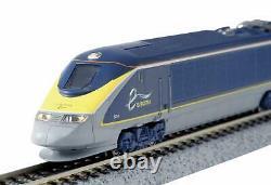 KATO N gauge Eurostar new paint 8-Car Set 101297 model railroad train