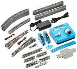 KATO N gauge M2 Endless with siding Basic set Master 2 20-853 Model train Rail