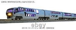 KATO N gauge Series 251 Super View Odoriko 10-car set 10-1576 Model Train